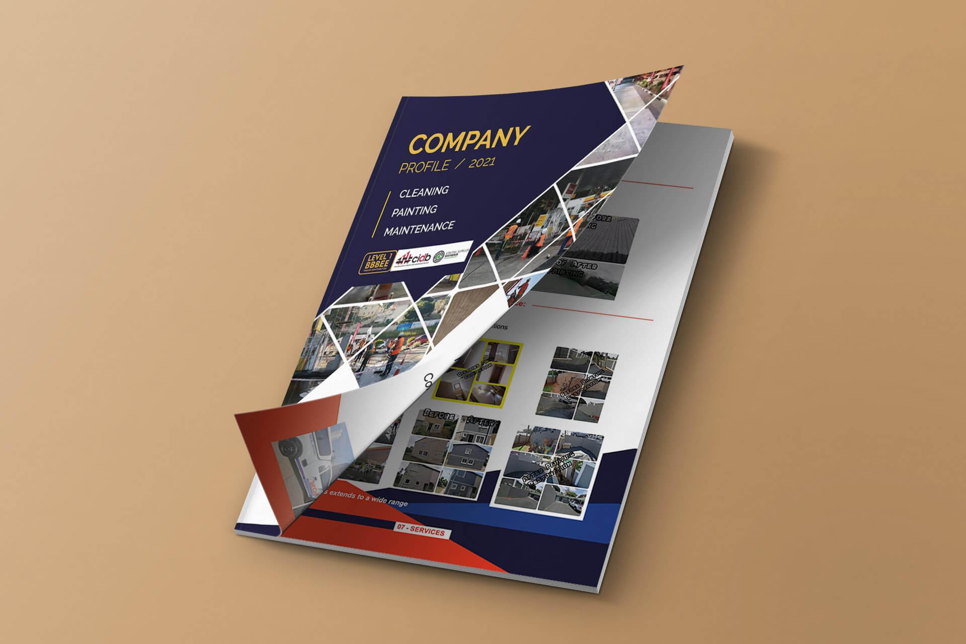 G13- Company profile design